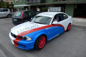 pellicole wrapping bmw
